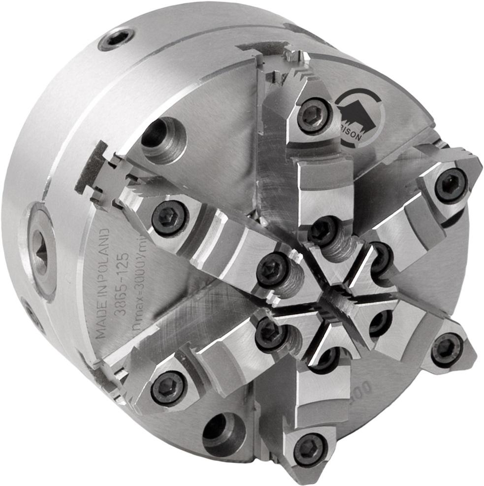 6-čelistní samostředicí spirálové sklíčidlo 3865