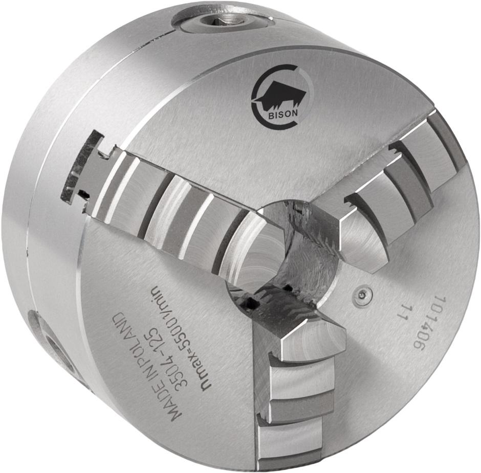 3-čelistní samostředicí spirálové ocelové sklíčidlo 3504