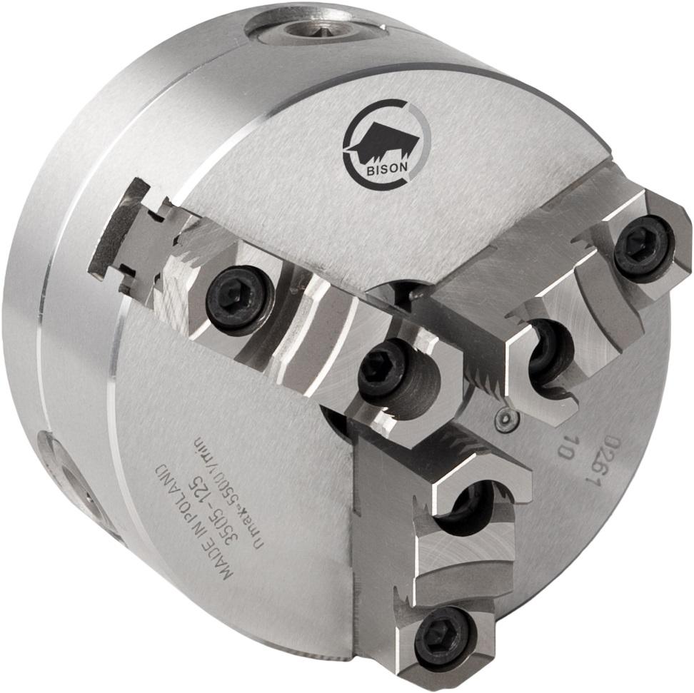 3-čelistní samostředicí spirálové ocelové sklíčidlo 3505