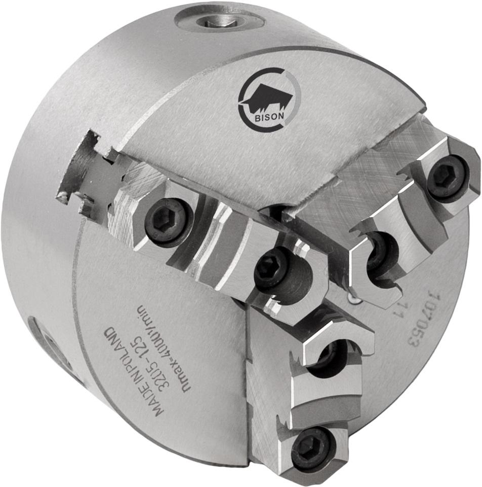 3-čelistní samostředicí spirálové sklíčidlo 3205