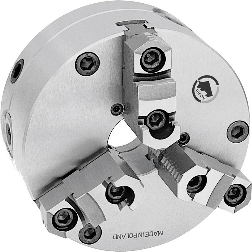 3-čelistní samostředicí spirálové sklíčidlo 3565