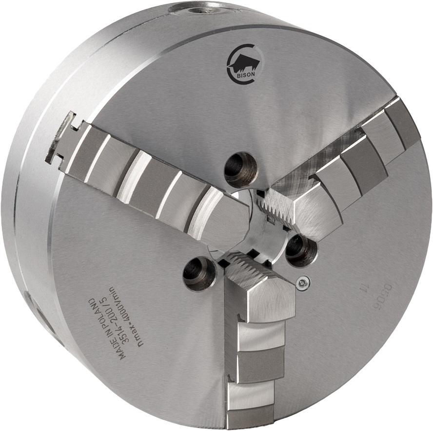 3-čelistní samostředicí spirálové sklíčidlo 3514