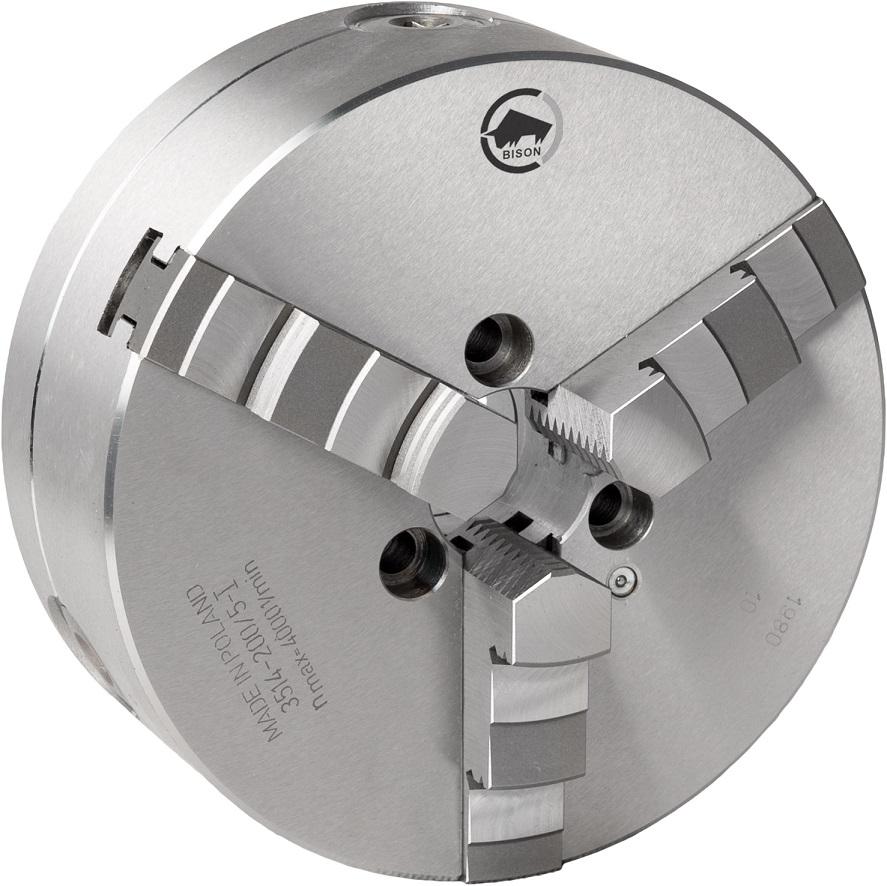 3-čelistní samostředicí spirálové ocelové sklíčidlo 3514-PREMIUM