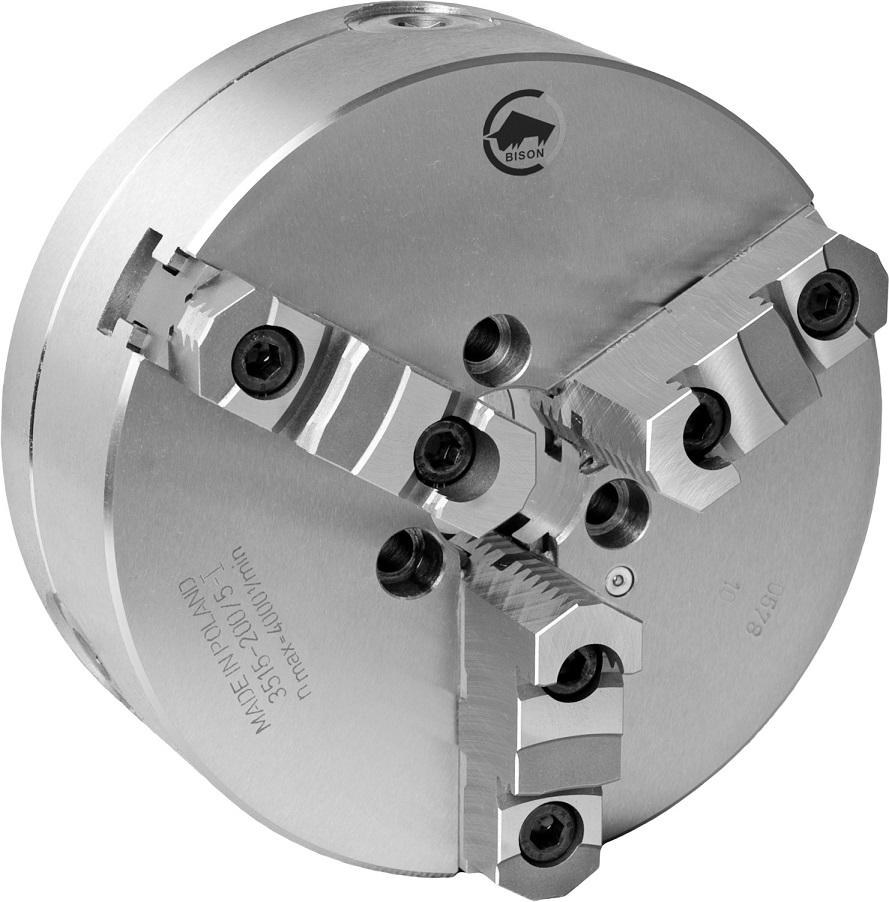 3-čelistní samostředicí spirálové ocelové sklíčidlo 3515-PREMIUM