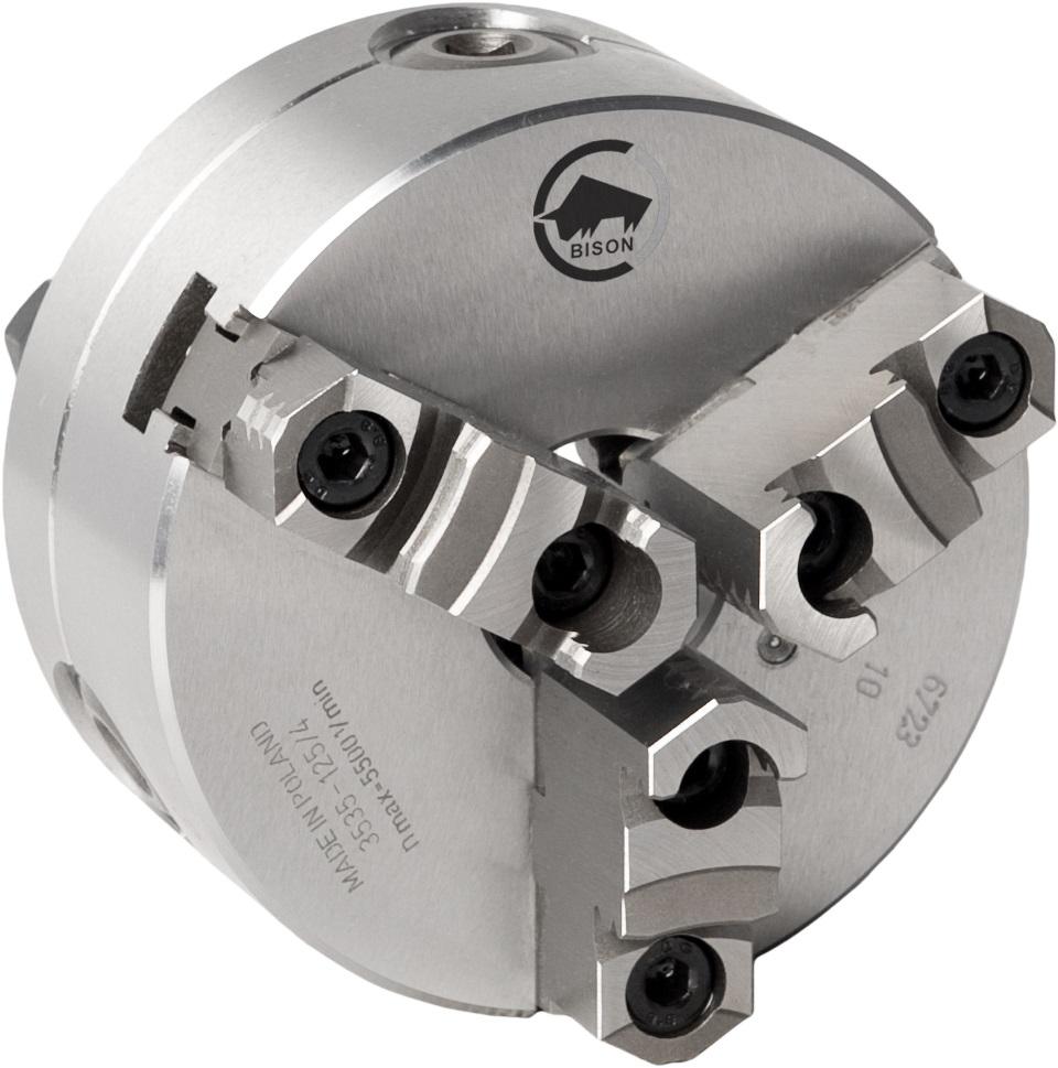 3-čelistní samostředicí spirálové ocelové sklíčidlo 3535