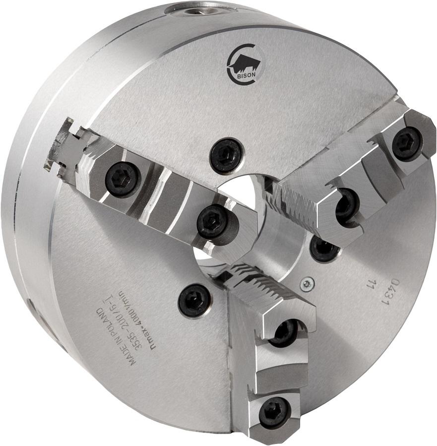 3-čelistní samostředicí spirálové ocelové sklíčidlo 3535-PREMIU