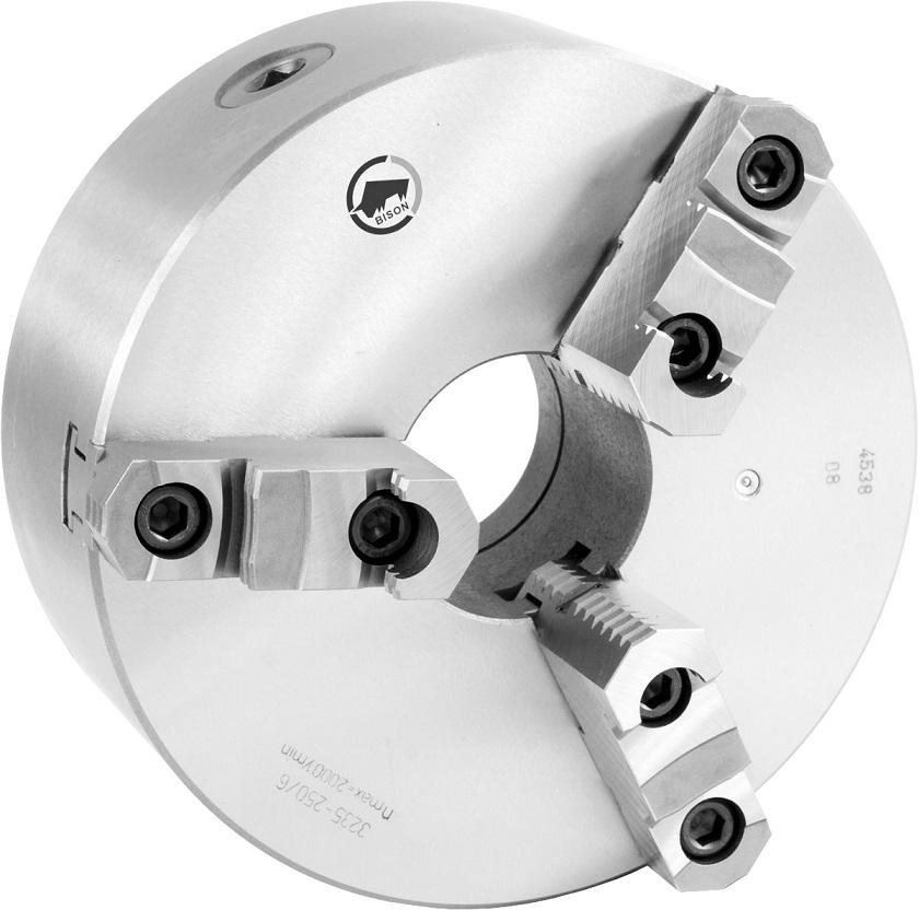 3-čelistní samostředicí spirálové sklíčidlo 3235