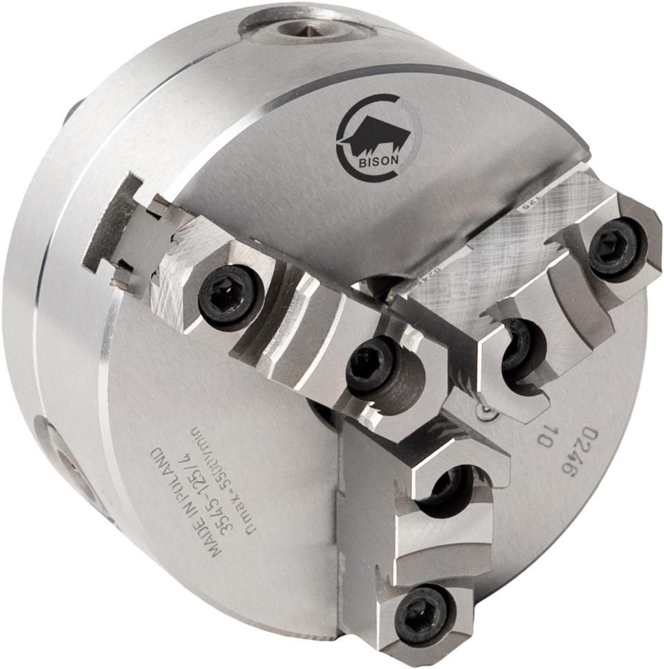 3-čelistní samostředicí spirálové ocelové sklíčidlo 3545