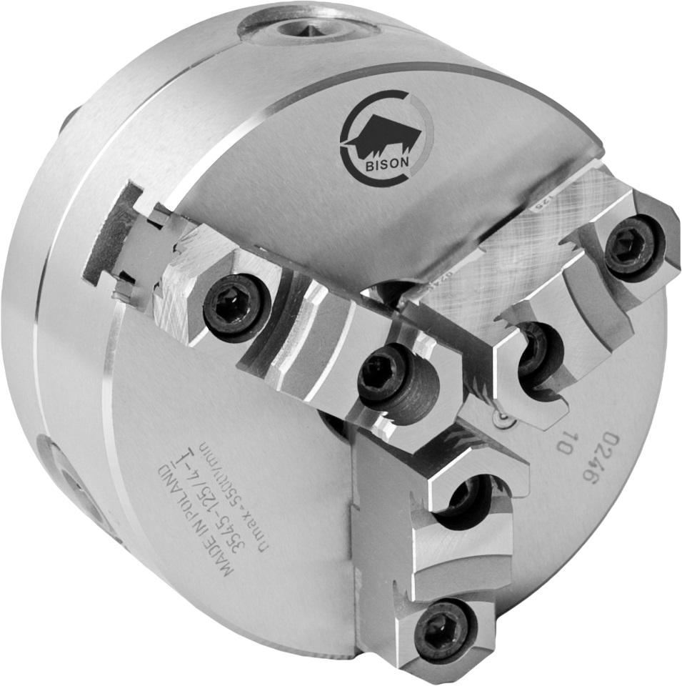 3-čelistní samostředicí spirálové ocelové sklíčidlo 3545-PREMIUM