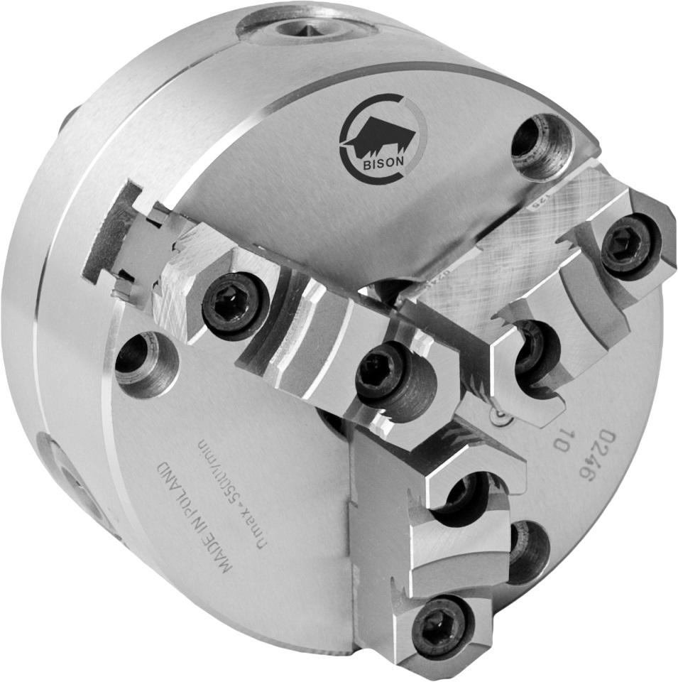 3-čelistní samostředicí spirálové ocelové sklíčidlo 3575-PREMIUM