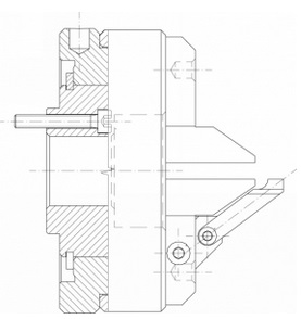6-čelistní speciální sklíčidlo pro broušení vrtáků 3868