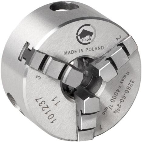 3-čelistní samostředicí spirálové sklíčidlo 3286-49 a 3286-60