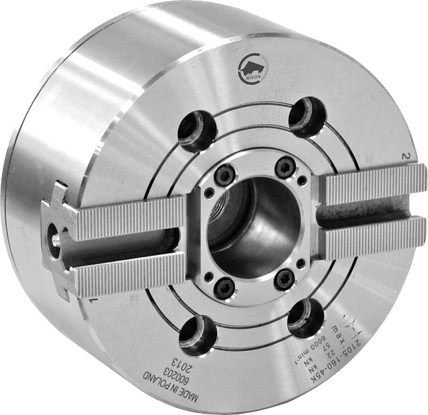 Silové sklíčidlo typ 2105K (1,5x60°); 2-čelistní