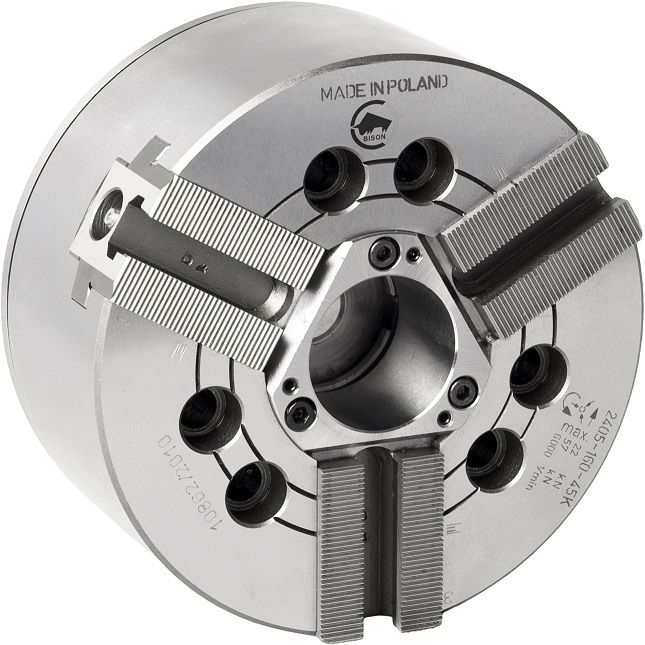 """Silové sklíčidlo typ 2405 (1/16""""x90°); 3-čelistní"""