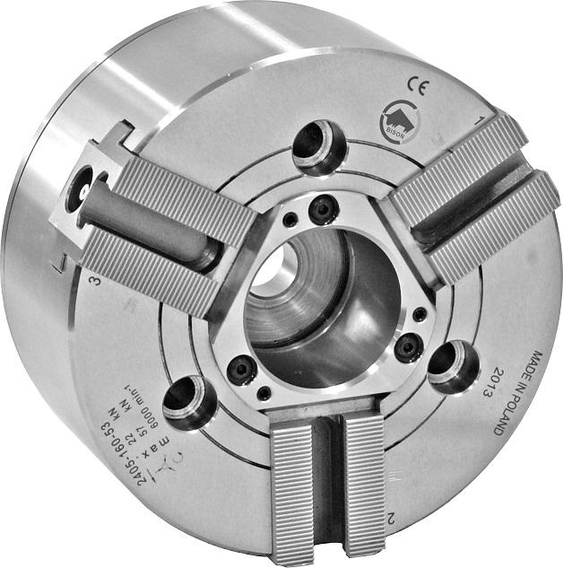 """Silové sklíčidlo typ 2405 ZW(1/16""""x90°); zvětšený průchozí otvor"""