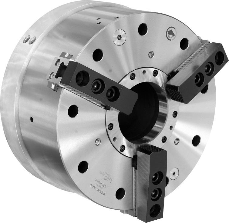 Silové sklíčidlo 2500 s integrovaným pneumatickým válcem