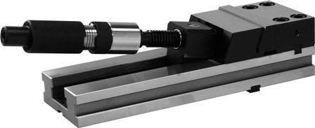 Přesný svěrák modulární pro CNC s ručním hydraulickým posilovačem (typ 6621)