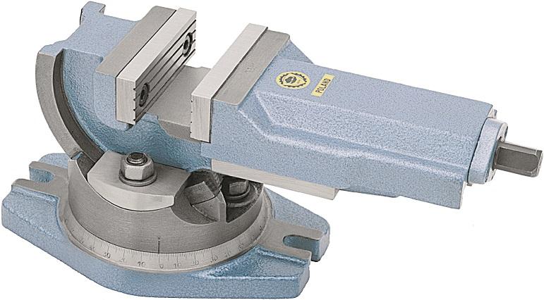 Otočný a sklopný svěrák typ 6530