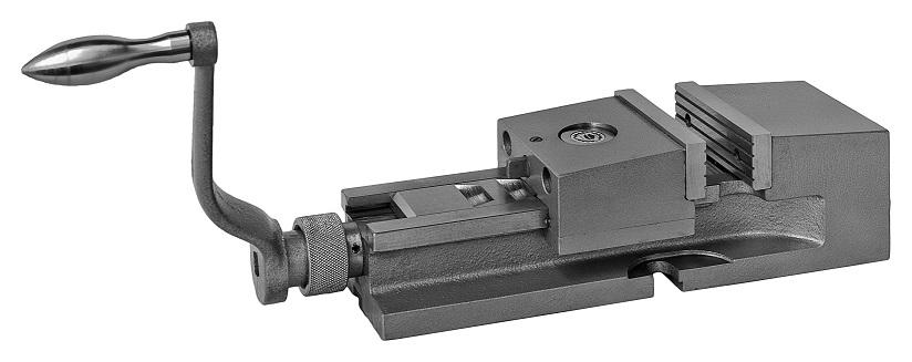 Strojní svěrák s rychlopřestavitelnou čelistí (CAMLOCK system) typ 6517