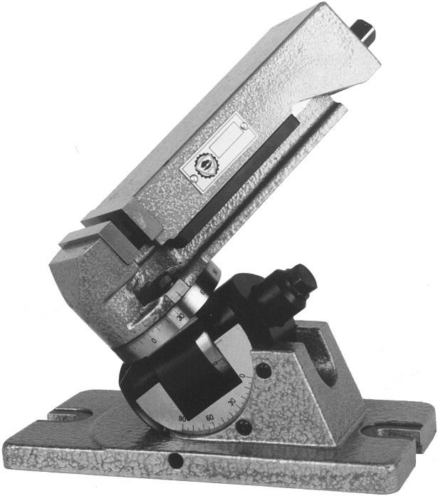 3-osý nástrojařský svěrák 6534
