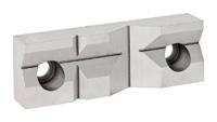 Čelistní vložka prizmatická dvojitá pro svěrák 6512;6530 - po kusech