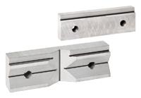 Čelistní vložky prizmatické s osazením - pro svěráky 6512;6516;6522; 6530;6531 - sada