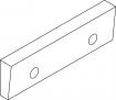 Čelistní vložka úhlová pro svěrák 6517