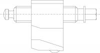 Kostka se šroubem SP-Z-OB 6620 pro svěráky typu 6620; 6820
