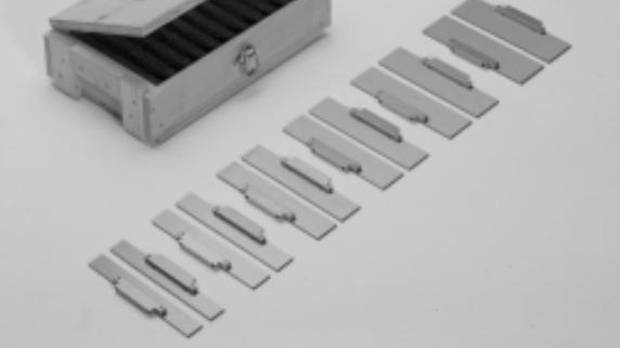 Podložky paralelní DL-HD 150 CLACK pro přesné svěráky OML - 6 párů