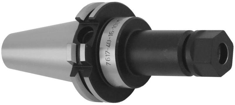 Kleštinový upínač pro kleštiny ER; DIN6971; prodloužená tenká verze (typ 7617-S)