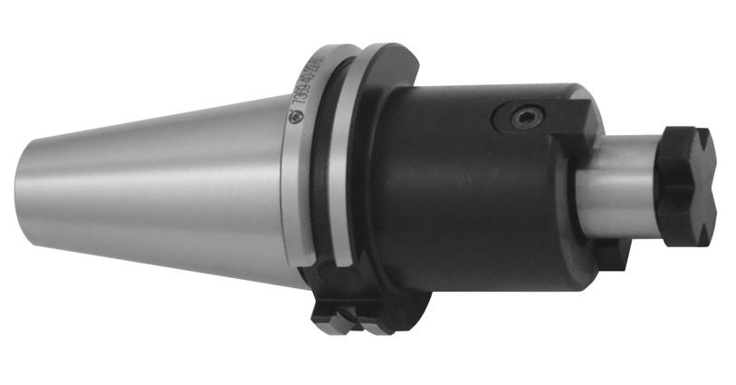 Frézařský trn s čelním unášením; DIN 69871 A (typ 7369A)