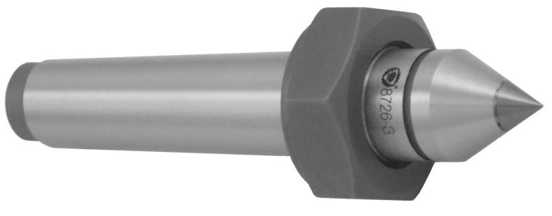 Pevný hrot se stahovací maticí a SK špičkou (typ 8726)