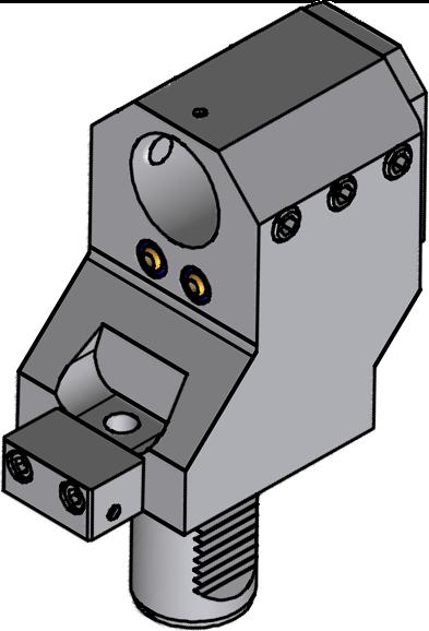 Držák VDI - pro vyvrtávací tyče - přesazený