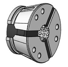 Kleštinové hlavy SK 52 - kruhový profil