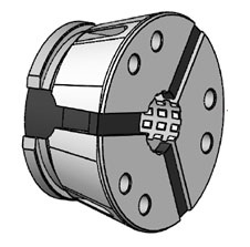 Kleštinové hlavy SK 52 - čtyřhranný profil