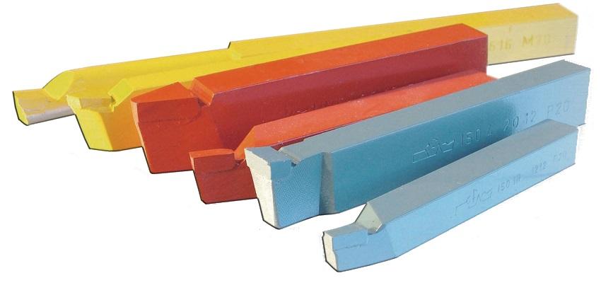 Soustružnické nože s pájeným TK plátkem