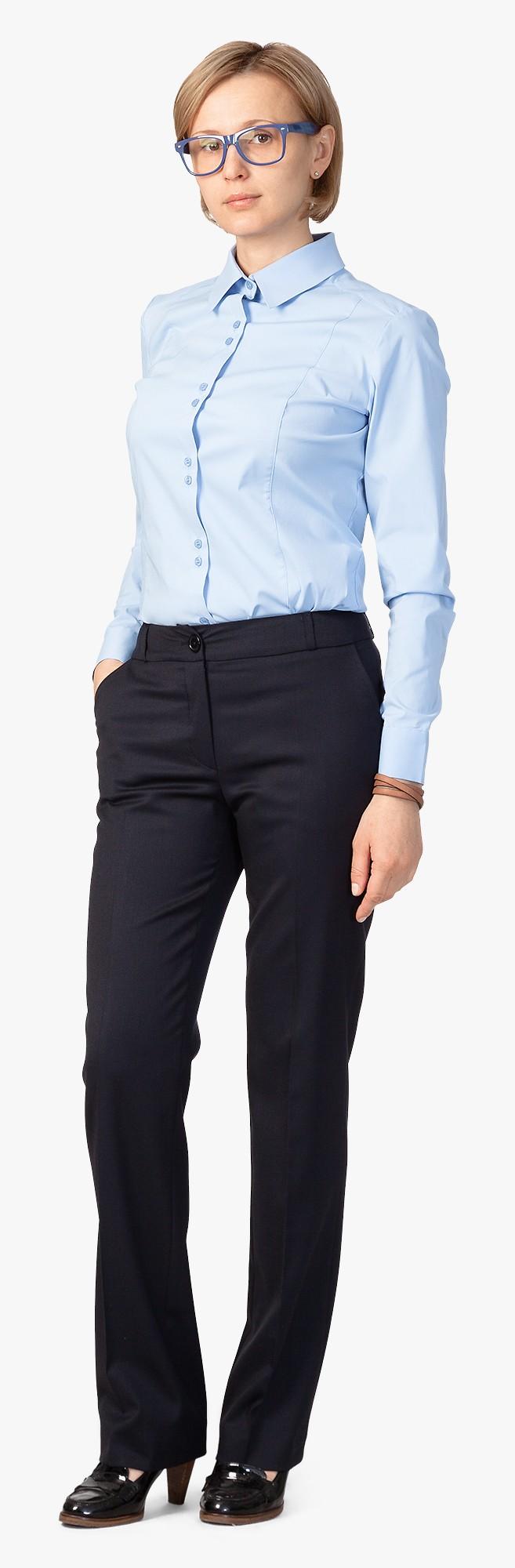 1.005 košile SLIM FIT, dl.rukáv, modrá