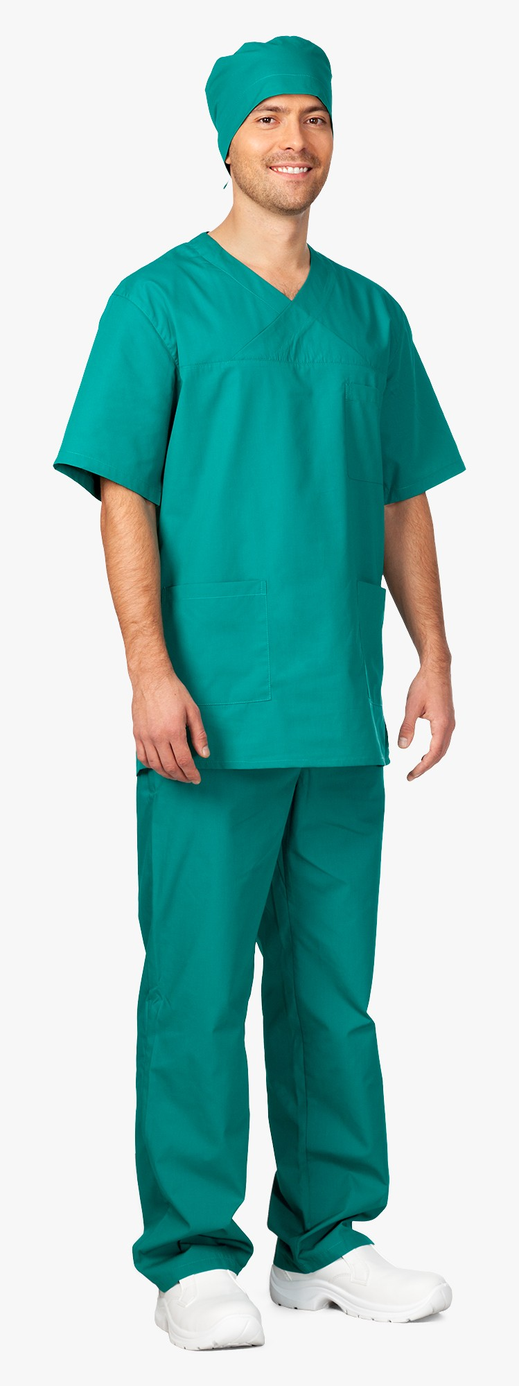 3.341 komplet pánský chirurgický, zelený