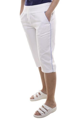 2417 kalhoty KARINA 3/4 délka, bílé