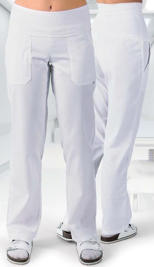 2403 kalhoty HANA, bílé