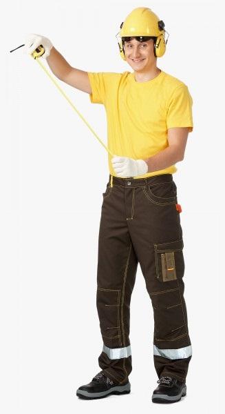 3.185 BAYERN kalhoty do pasu