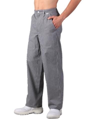 2503 kalhoty PEPITO - přední zapínání & pruženka