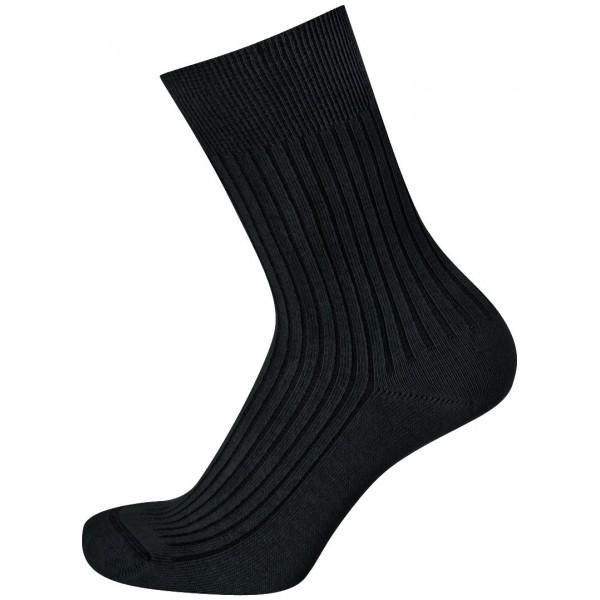 KNITVA ponožky FAJAN, tmavě šedé