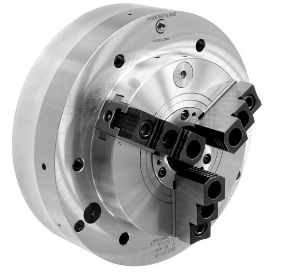 Silové sklíčidlo 2502 s integrovaným pneumatickým válcem