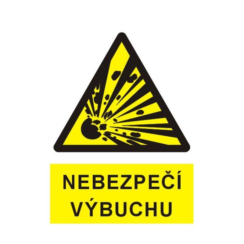 Nebezpečí výbuchu