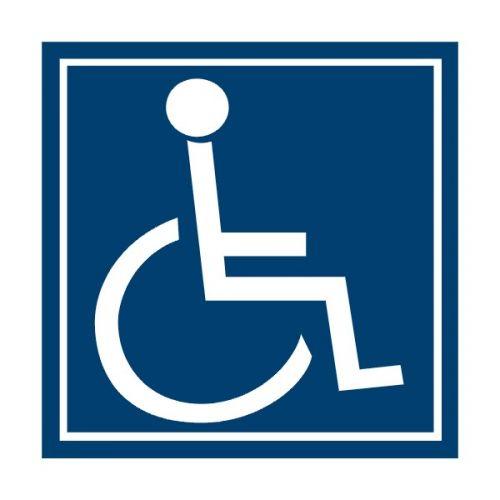 SYMBOL zařízení/prostoru pro osoby na vozíku