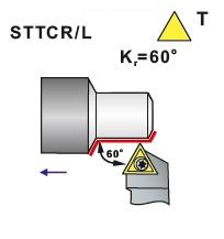 Nože soustružnické STTCR, STTCL