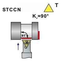 Nože soustružnické STCCN