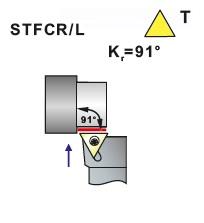Nože soustružnické STFCR, STFCL