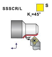 Nože soustružnické SSSCR, SSSCL